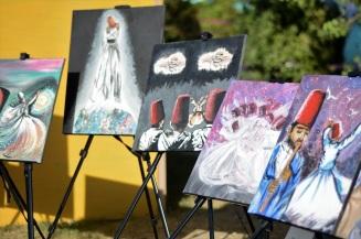 اللوحات المروسومة يدويا